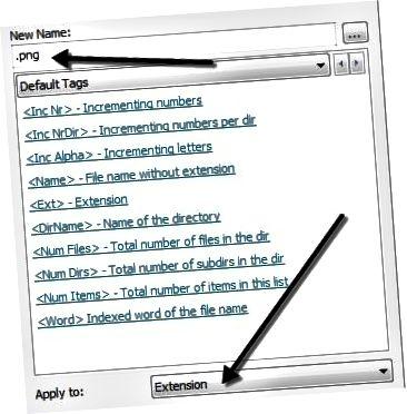 파일 확장자 변경