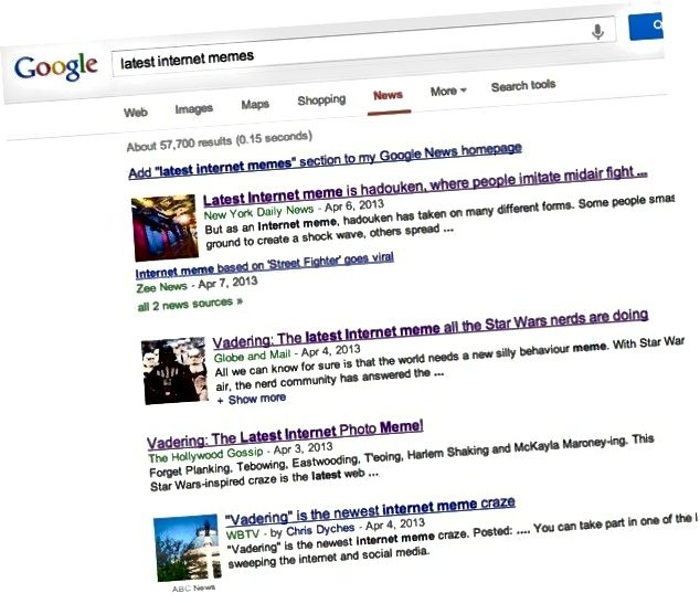 Google 뉴스 밈