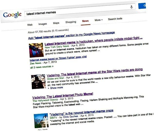 Google समाचार मेमे