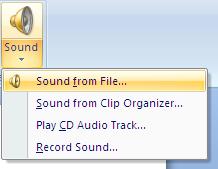 įterpti garsą iš failo