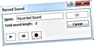 įrašyti garsą