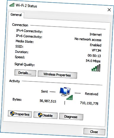 status jaringan
