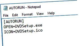 자동 실행 파일