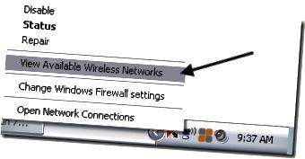 konfigurasikan jaringan nirkabel