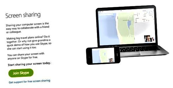 мубодилаи экрани скайп