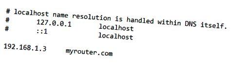 redirect ke perangkat lokal