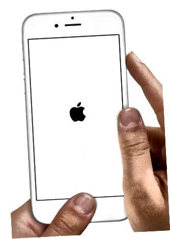 iphone újraindítása