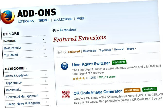 add-on situs web firefox
