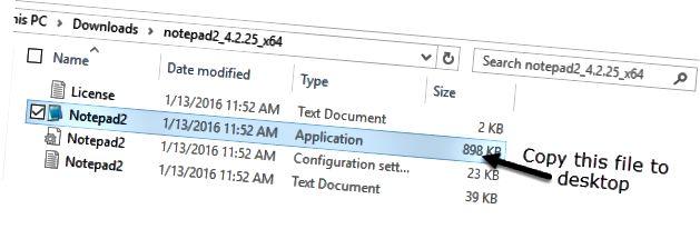 kopier fil til desktop