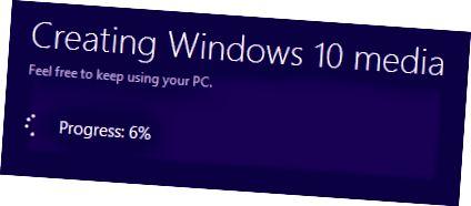 2 단계 Windows 10 미디어 생성