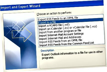 exportálás fájlba