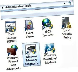 diagnostik memori windows