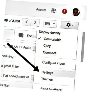 pengaturan gmail
