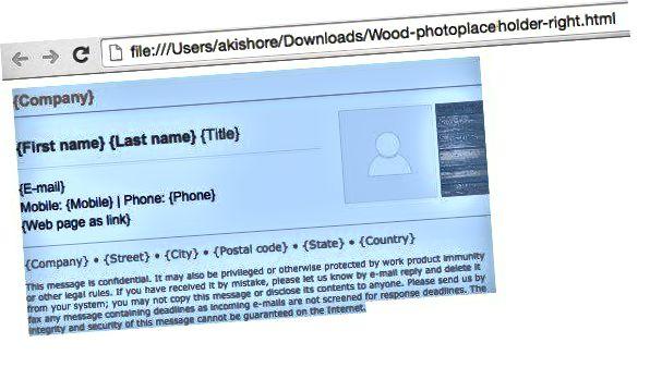 tanda tangan html