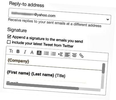 tanda tangan html yahoo