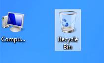 ikon spasi windows 8