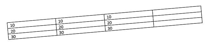 szó táblázat példa