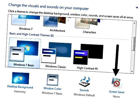 ekrano užsklanda
