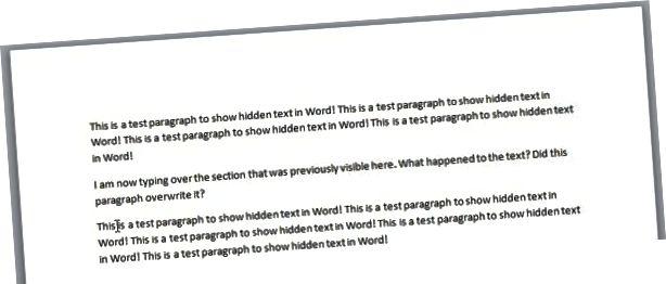 se skjult tekst