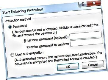 indtast adgangskodebeskyttelse