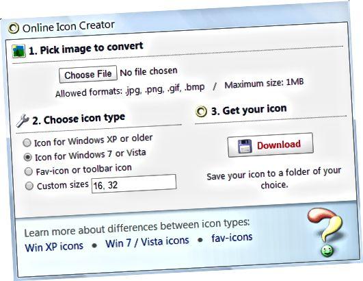 tvorca ikon online