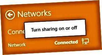 activar compartir