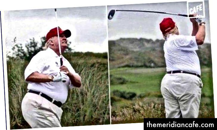 """Fotos como essas demonstram claramente a capacidade do presidente de aniquilar a economia do México, limitando a ingestão de pratos exclusivos. """"(Crédito: dailycandidnews.com)"""