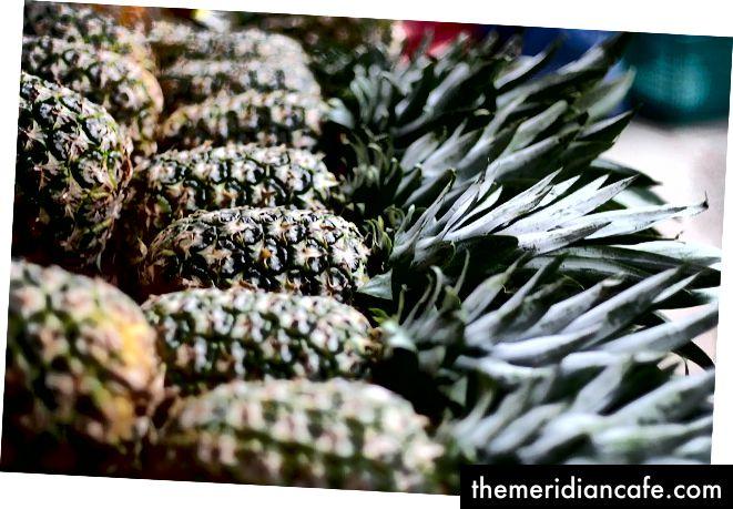 nüchterne Ananas. Bild mit freundlicher Genehmigung von Noah Markus