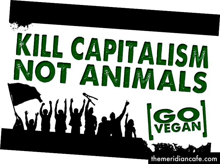 قتل الرأسمالية وليس الحيوانات