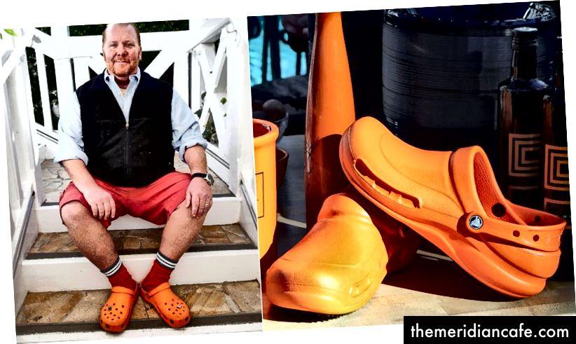يقول رؤساء بلديات المدن الساحلية ومدن الأنهار إن أزواج من التماسيح البرتقالية ، مثل تلك التي يرتديها البطلالي ، يتم التخلص منها في عشرات المجاري المائية. (الائتمان: chalkboardnails.com)