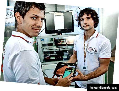 Das erste Unternehmen, Žiga, Tomaž und Branimir. Fotonachweis: Finanzen