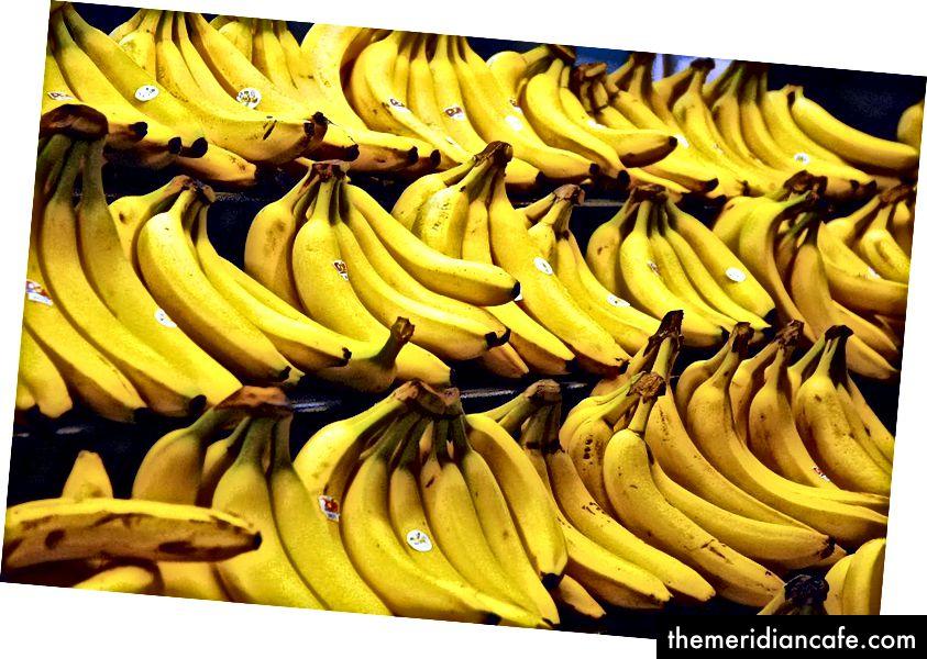 Steve Hopson über Wikimedia Commons. Eines Tages könnte eine schöne Bananenausstellung der Vergangenheit angehören
