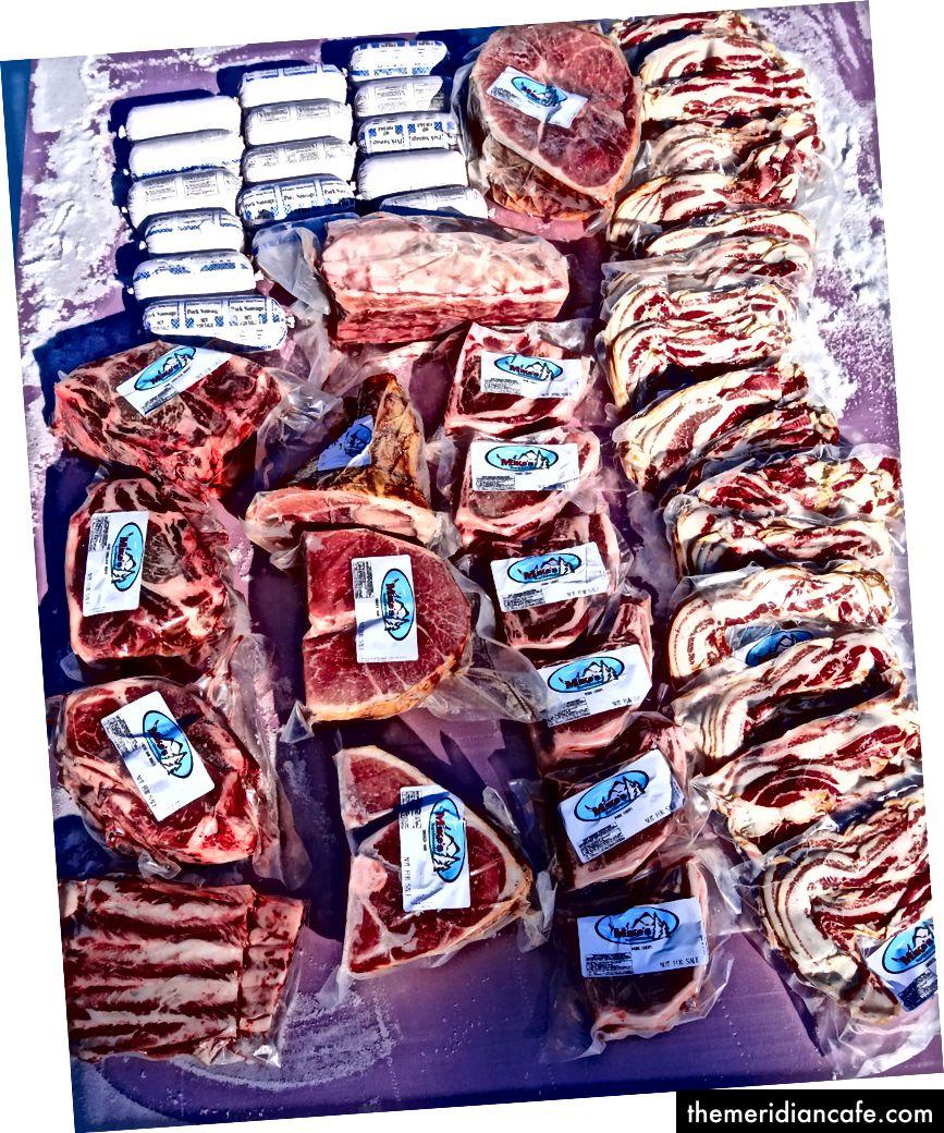 Pół-wieprzowa pasta do pysznej wieprzowiny!