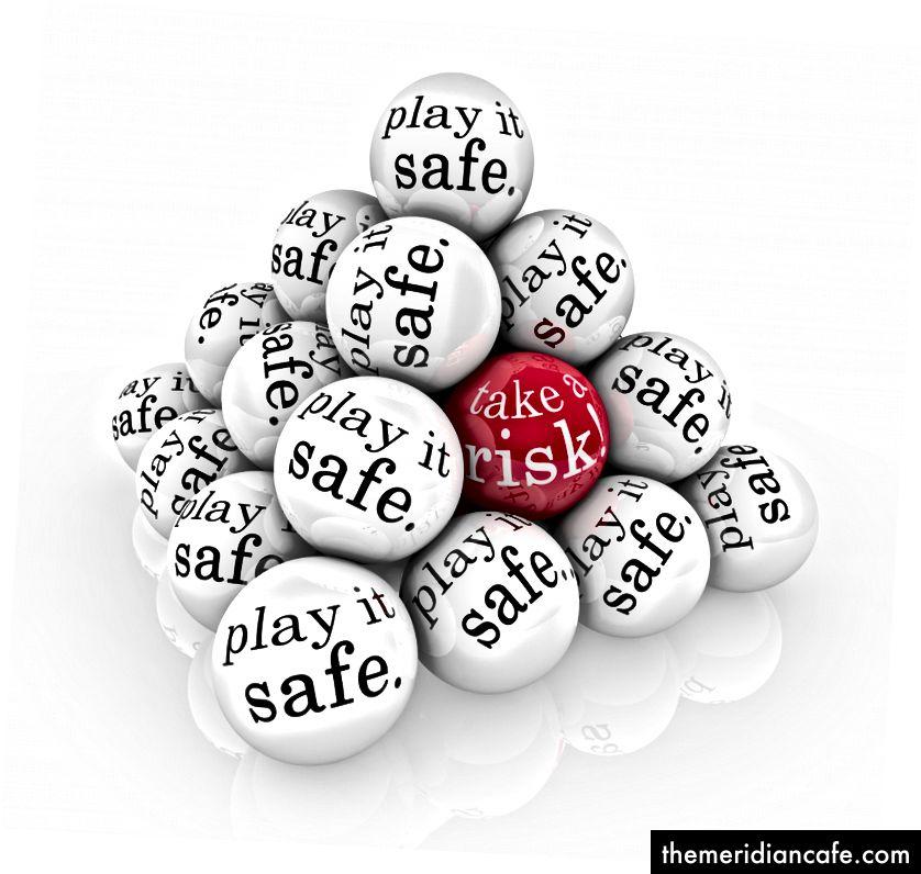 Notre tendance à jouer en toute sécurité dans notre zone de confort pourrait nous empêcher de nouer des contacts avec des personnes susceptibles de modifier la trajectoire de nos vies. Crédit d'image: depositphotos