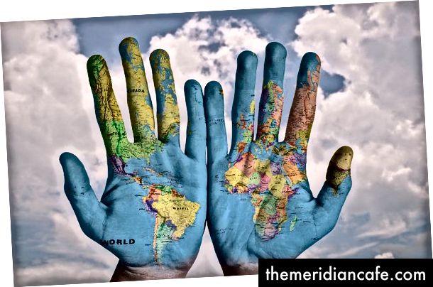 Nous pouvons nous couvrir le monde. Crédit image: Stockpic sur Pixabay.