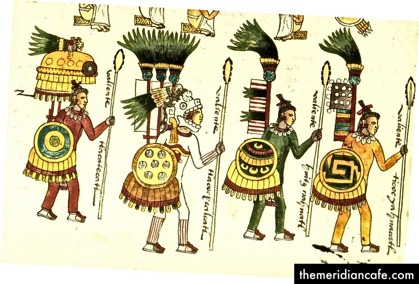 Mexica Aztec Warriors zjadły amarant