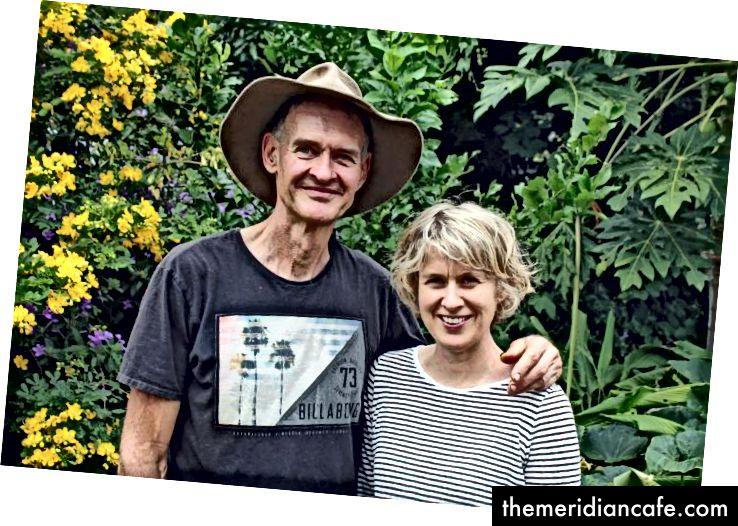 Duncan McNaught e Caroline Kemp são o cérebro por trás da Urban Food Street da Buderim. Foto: Harriet Tatham