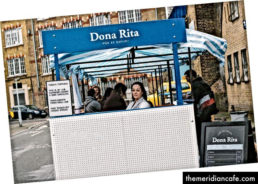 Nosso primeiro mercado de comida de rua na Druid Street