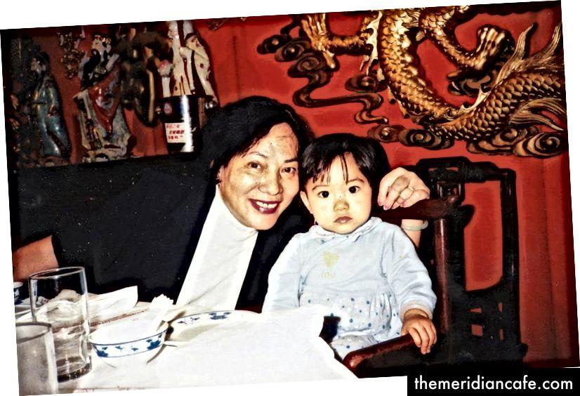 جدتي وأنا