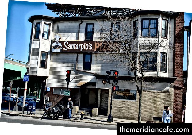 Santarpios, une expérience de pizza bizarre mais merveilleuse