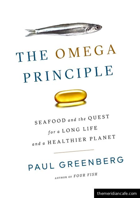 De The Omega Principle, de Paul Greenberg, publicado pela Penguin Press, uma impressão do Penguin Publishing Group, uma divisão da Penguin Random House, LLC. Copyright © 2018 por Paul Greenberg.