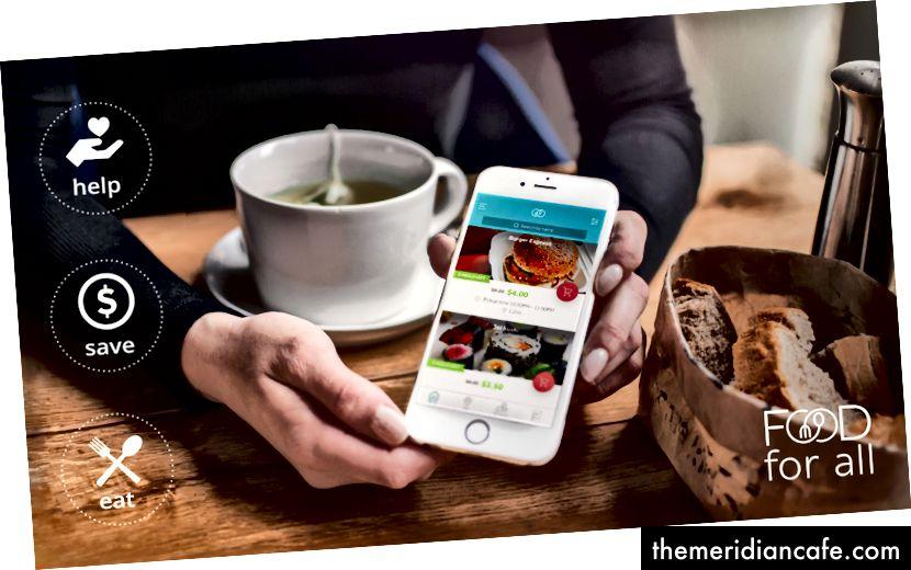 O Food for All visa reduzir o desperdício de alimentos, permitindo que os usuários comprem alimentos em excesso que os restaurantes não vendem, incentivados a um preço com desconto.