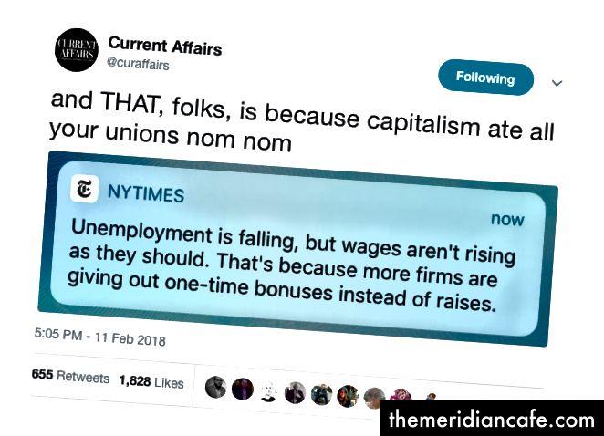 Rapports américains en hausse sur les salaires stagnants
