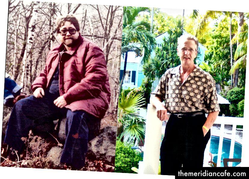 Bill Anderson prije i nakon gubitka težine od 140 funti