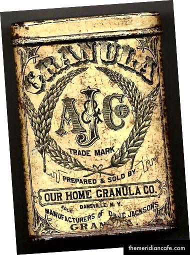Granula - obrázek z historické společnosti v Dansville
