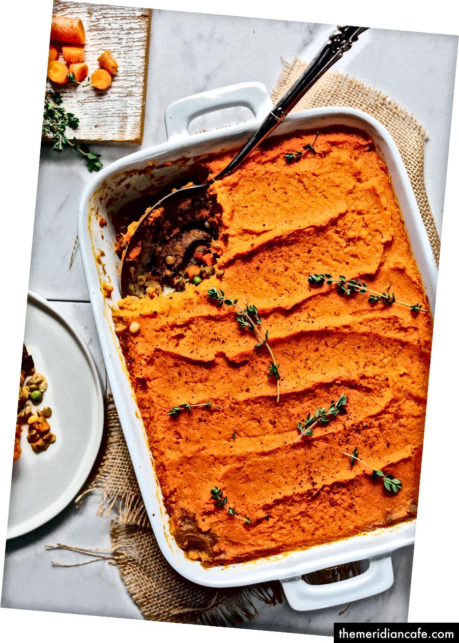 https://minimalistbaker.com/lentil-sweet-potato-shepherds-pie/