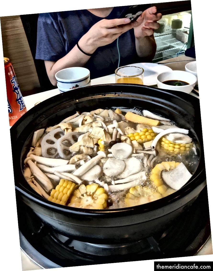 Oala calda de nuca de cocos. Beijing