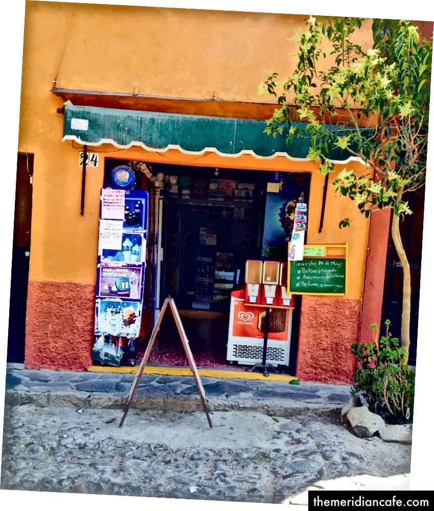 Minha loja da esquina, no México. Foto, Linda Laino