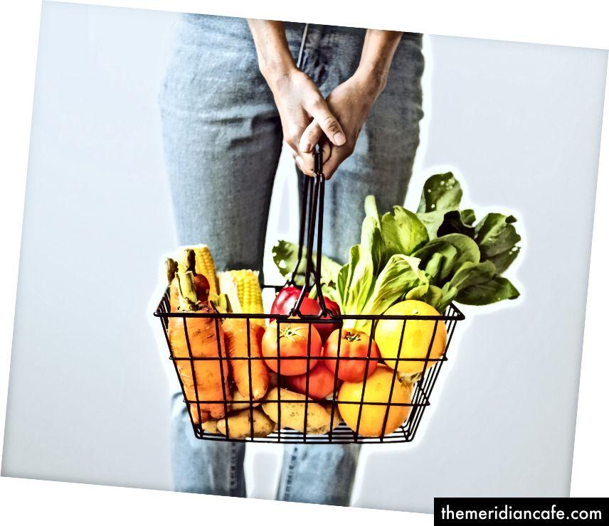 USDA preporučuje najmanje 5 obroka voća i povrća dnevno. Izvor: rawpixel na Unsplash-u