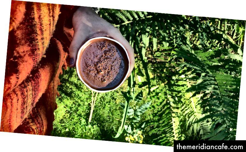 Какао у природи - крајња пракса уземљења и повезаности сваког јутра.